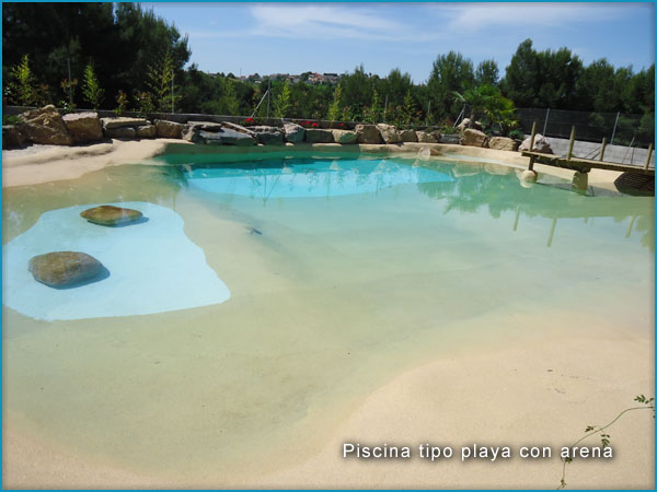 Piscinas tipo playa en roca artificial rocasyelica - Piscinas tipo playa ...